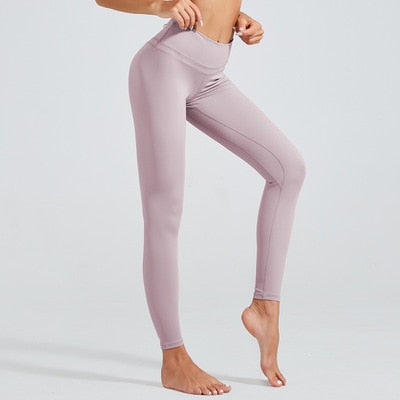 Astoria LUXE 'Never Give Up' Series Legging - Mauve
