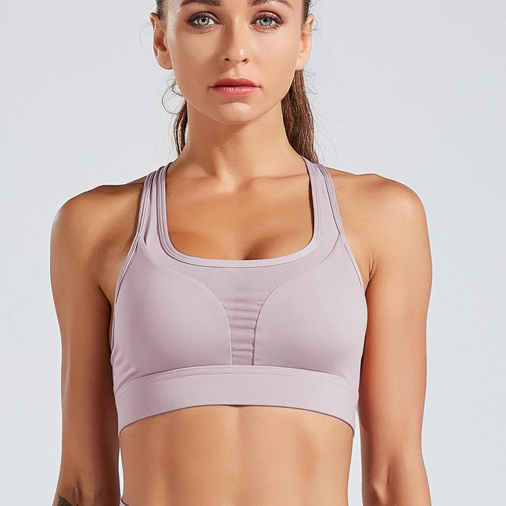 Astoria LUXE 'Never Give Up' Series Sports Crop - Mauve