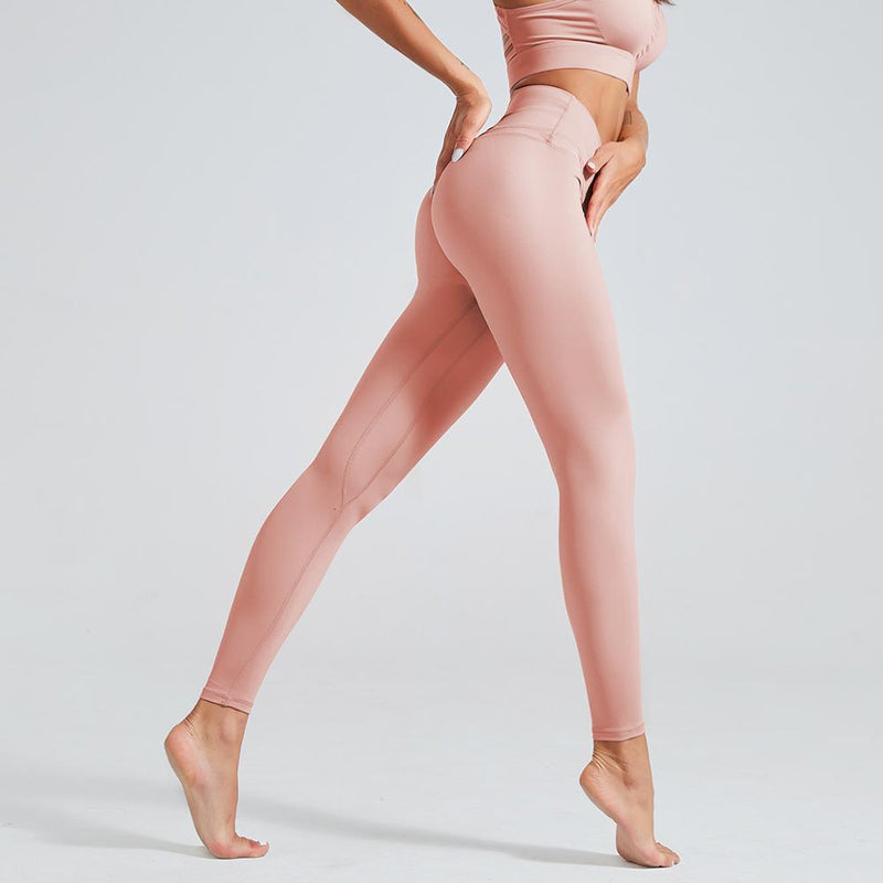 Astoria LUXE 'Never Give Up' Series Legging - Pink