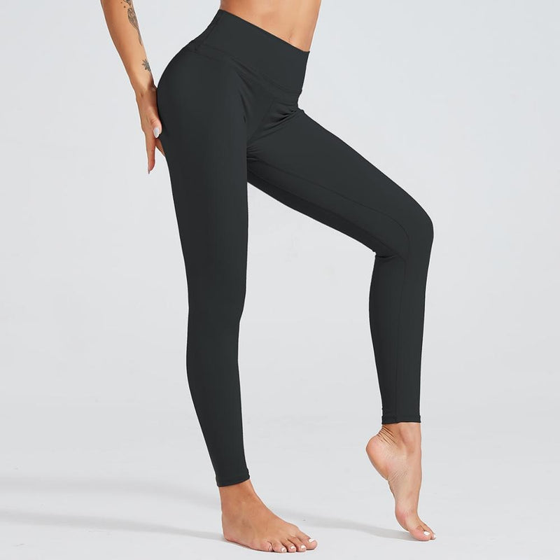 Astoria LUXE 'Never Give Up' Series Legging - Black