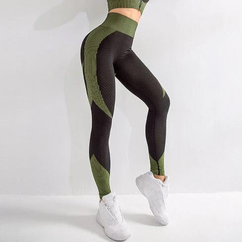 Astoria MOMENTUM Full Length Legging - Lime/Black