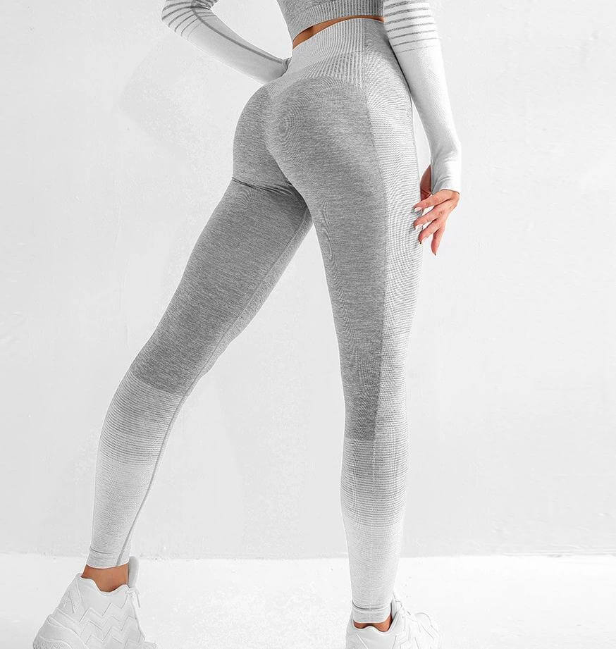 Astoria ENERGY Full Length Legging - Grey/White