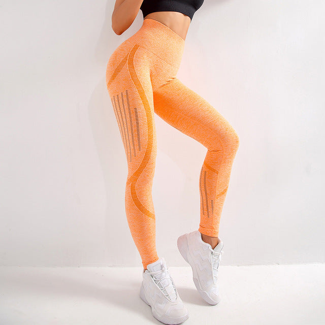 Astoria Seamless AIR Legging - Cream Orange