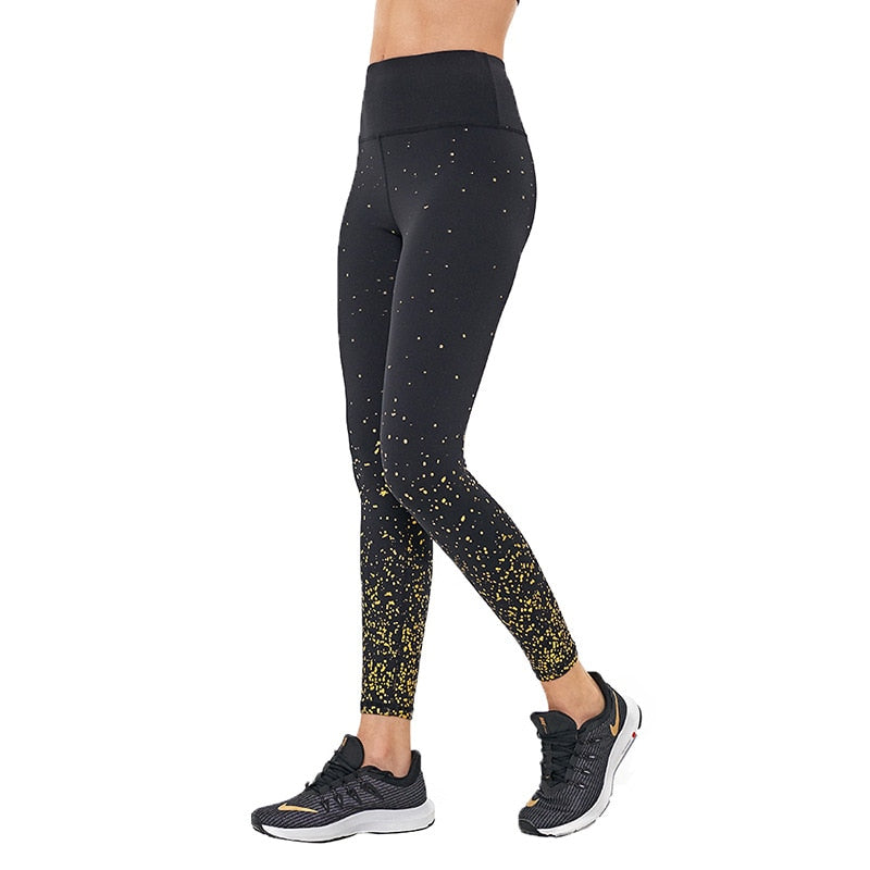 Astoria LUXE 'All That Glitters' Legging - Black/Gold