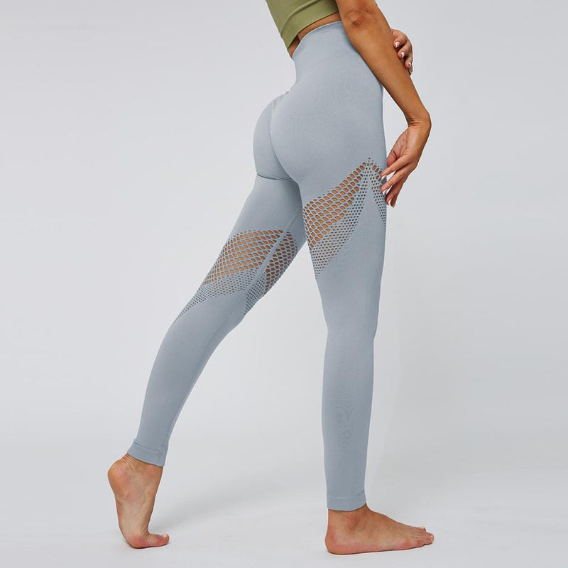Astoria Seamless Mesh 2.0 Full Length Legging - Grey