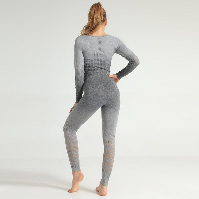 Astoria Seamless Ombre 2.0 Legging - Grey