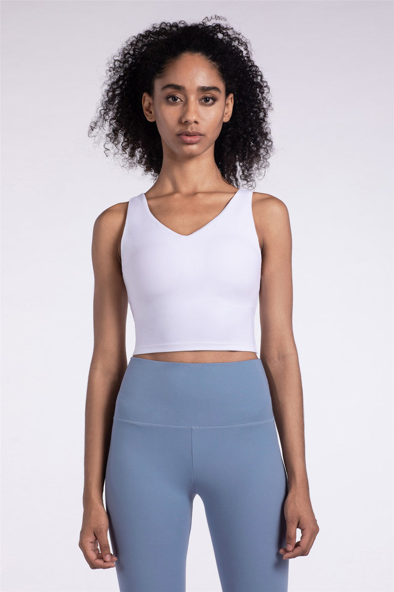 Astoria LUXE Sports Crop - White