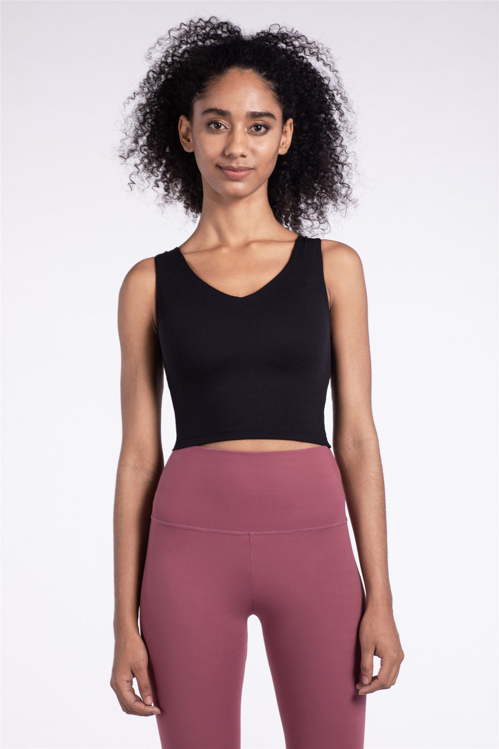 Astoria LUXE Sports Crop - Black
