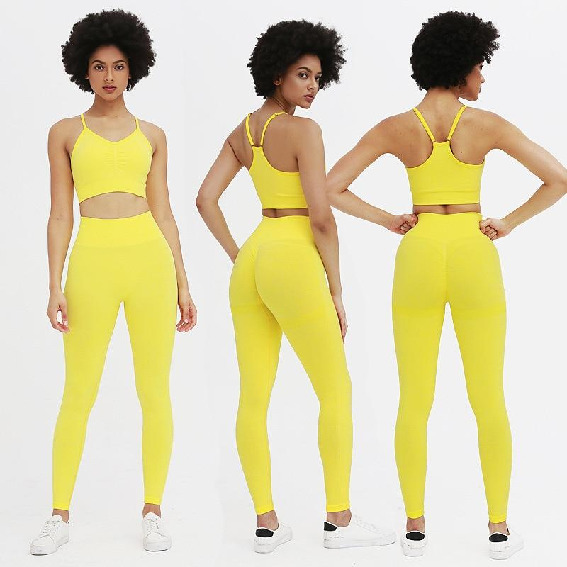 Astoria TEMPO Contour Full Length Legging - Lemon Yellow