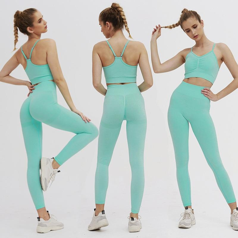 Astoria TEMPO Full Length Legging - Seafoam Blue