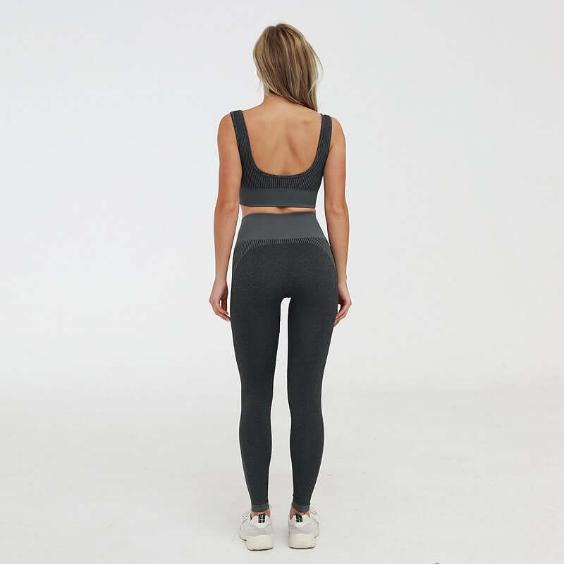 Astoria ENERGY Full Length Legging - Black/Grey