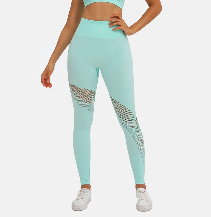 Astoria POWER Full Length Legging - Aqua