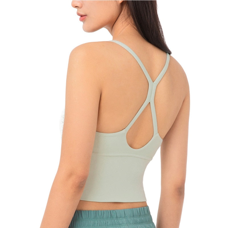 Astoria LUXE LEGACY Sports Crop - Light Green