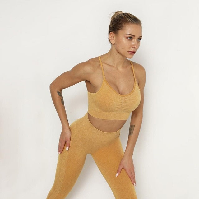 Astoria TEMPO Contour Sports Crop - Gold