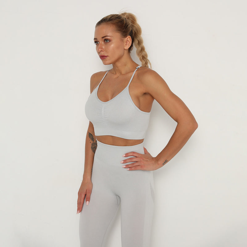Astoria TEMPO Contour Sports Crop - Silver