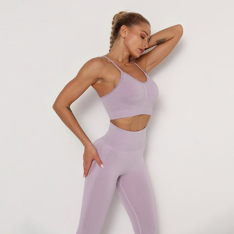 Astoria TEMPO Contour Sports Crop - Faded Lavender