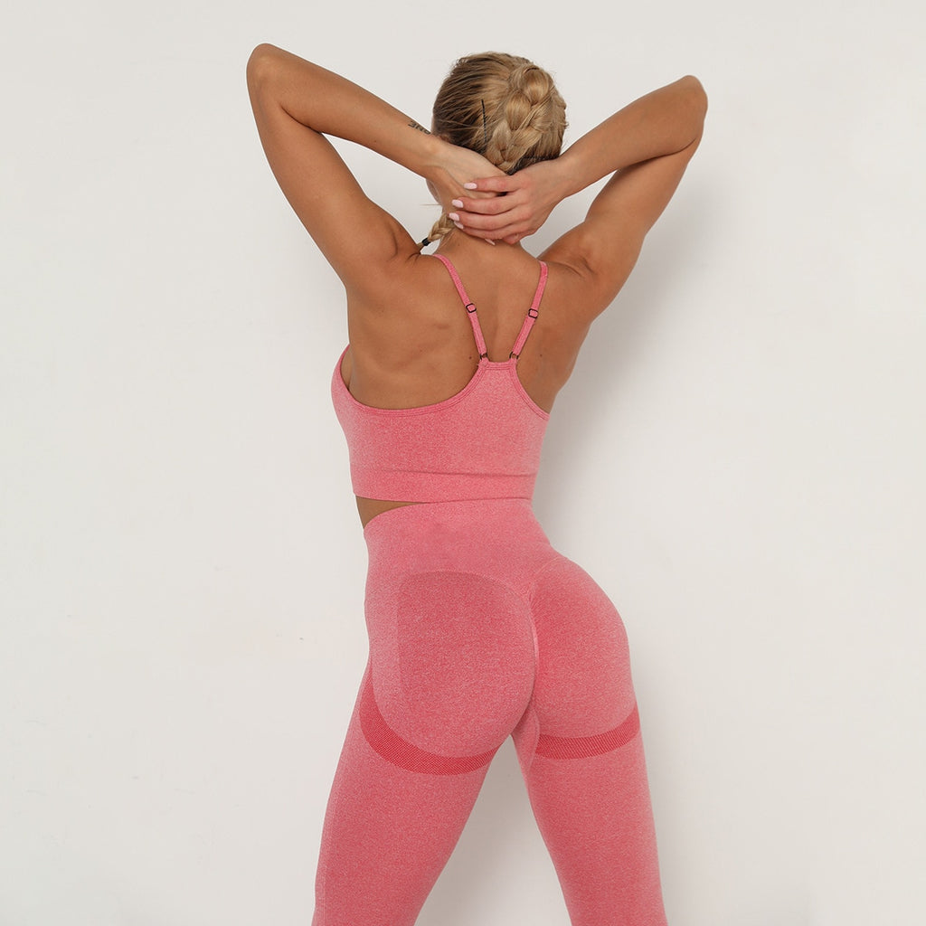 Astoria TEMPO Contour Sports Crop - Watermelon Pink