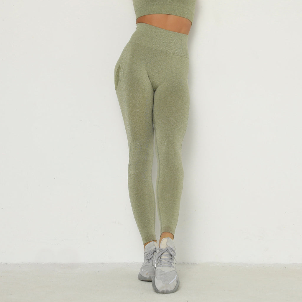 Astoria TEMPO Contour Full Length Legging - Army Green