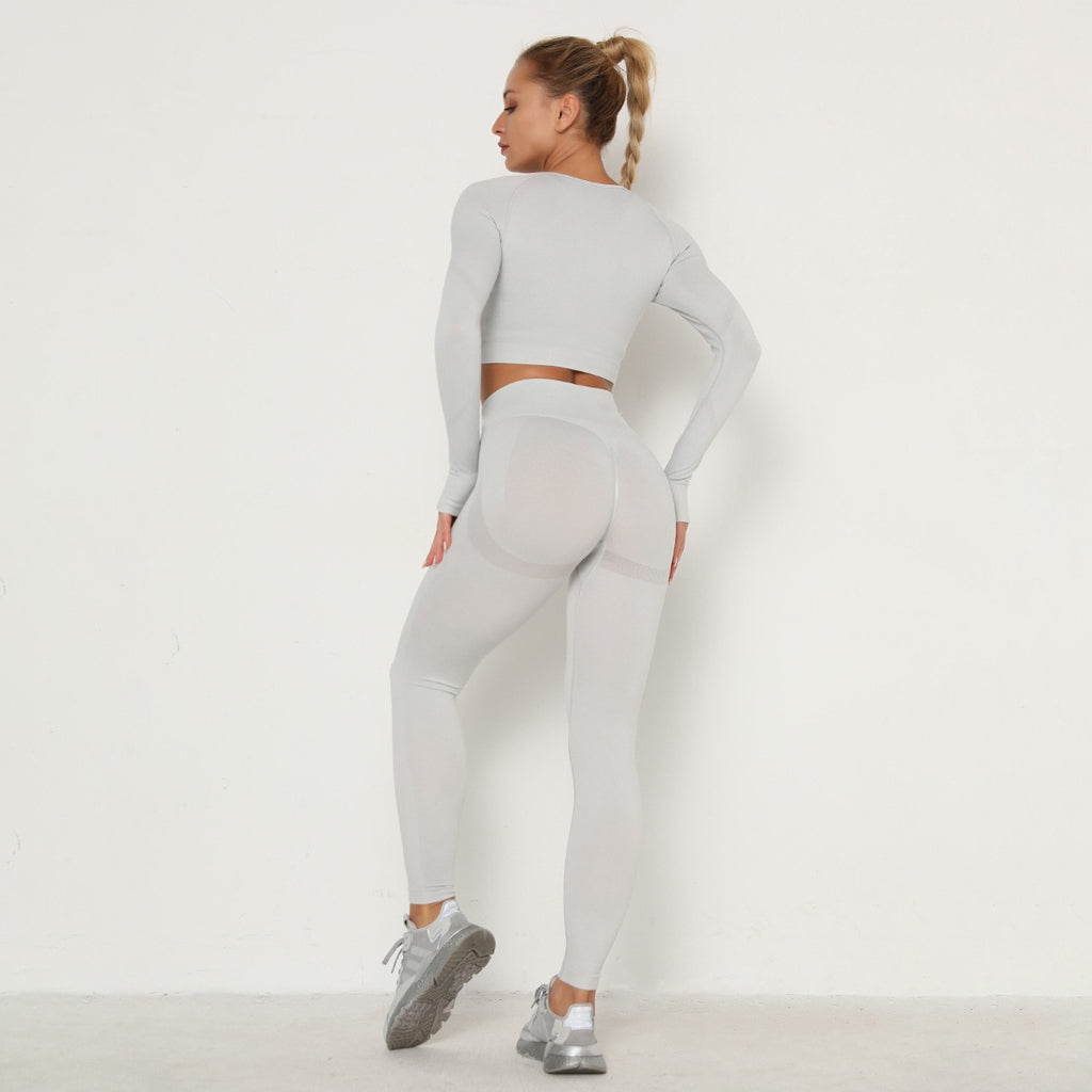 Astoria TEMPO Contour Sleeved Crop - Silver