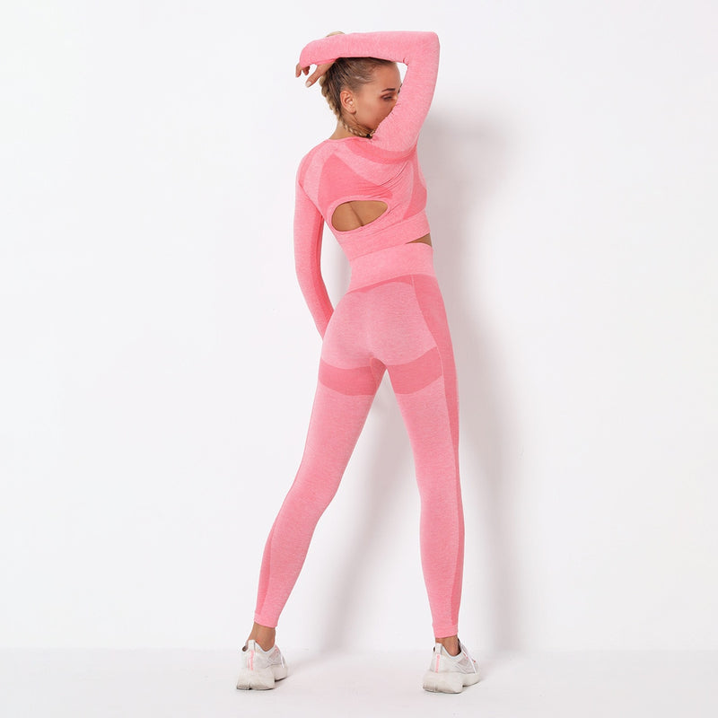 Astoria PURPOSE Sleeved Crop - Pink
