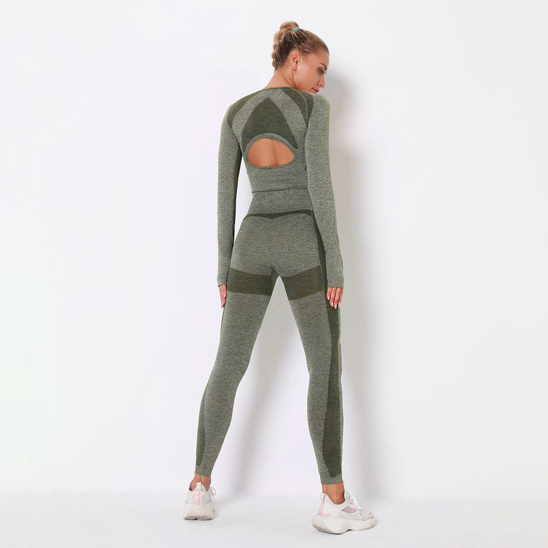 Astoria PURPOSE Sleeved Crop - Green
