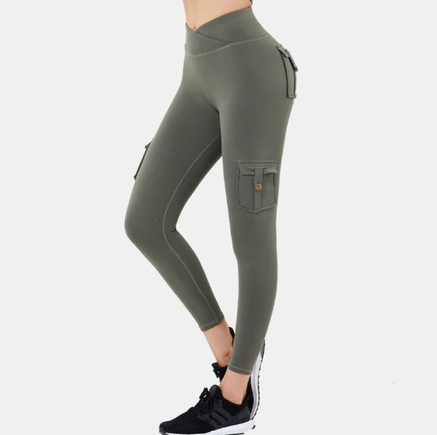 Astoria LUXE FLEX Legging - Army Green