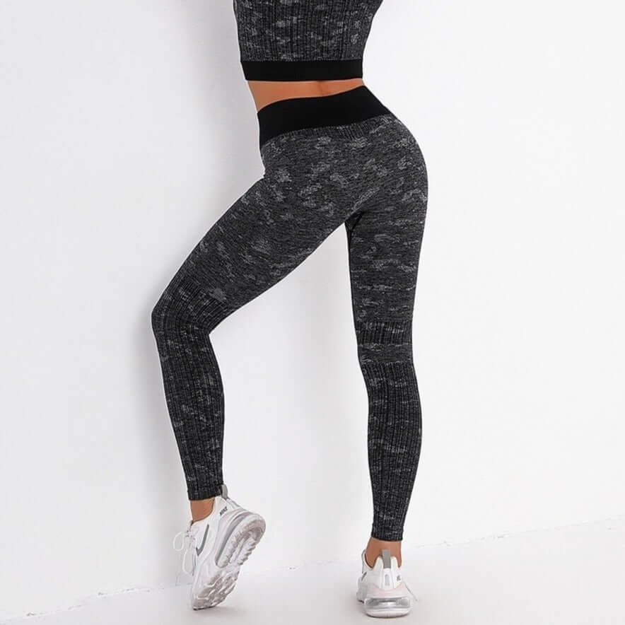 Astoria FLEX Full Length Legging - Black/Grey