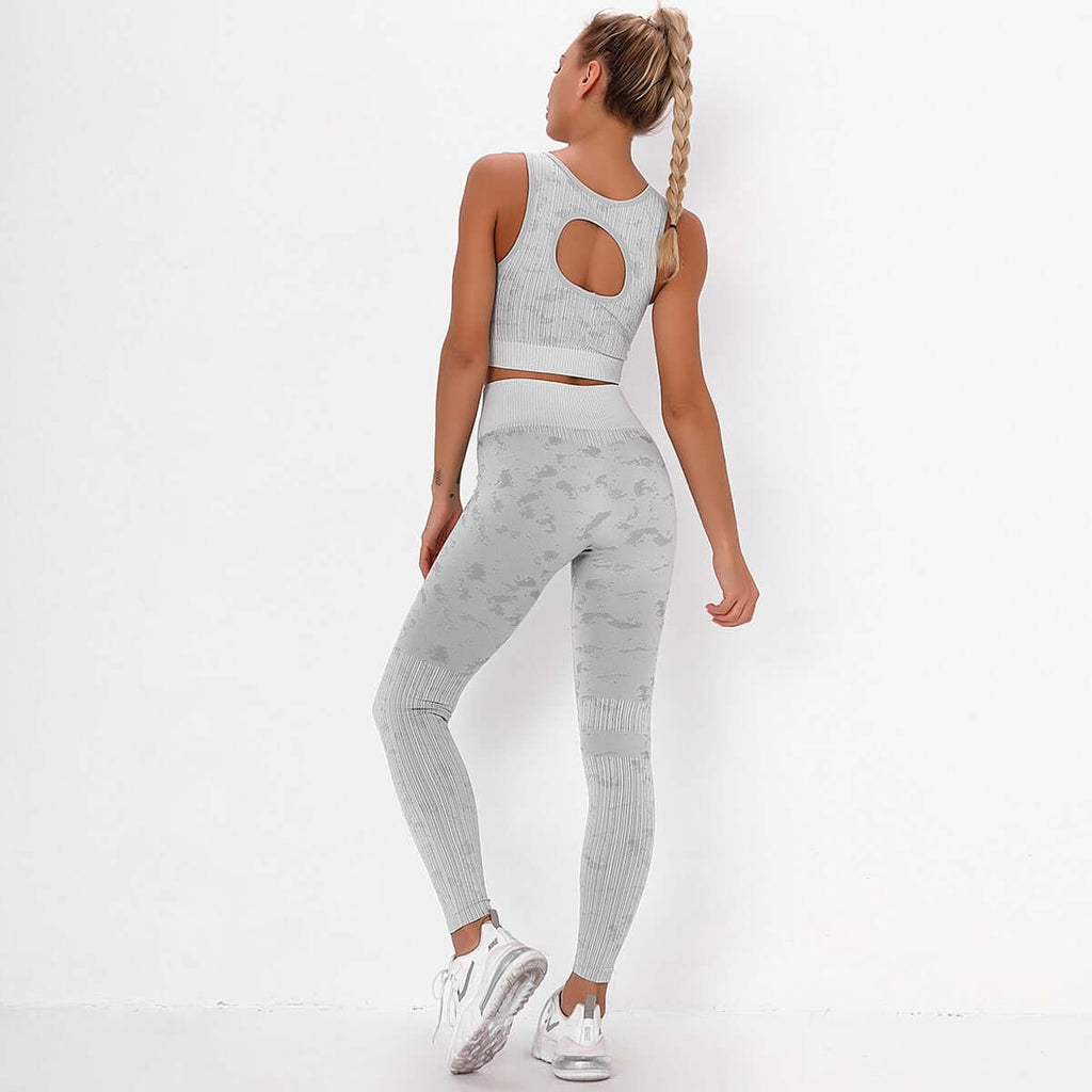Astoria FLEX Sports Crop - Grey