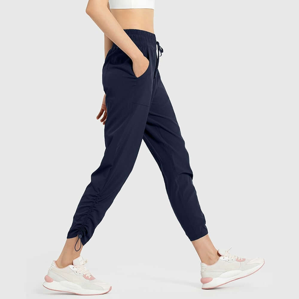 Astoria Essential Crop Jogger - Dark Navy