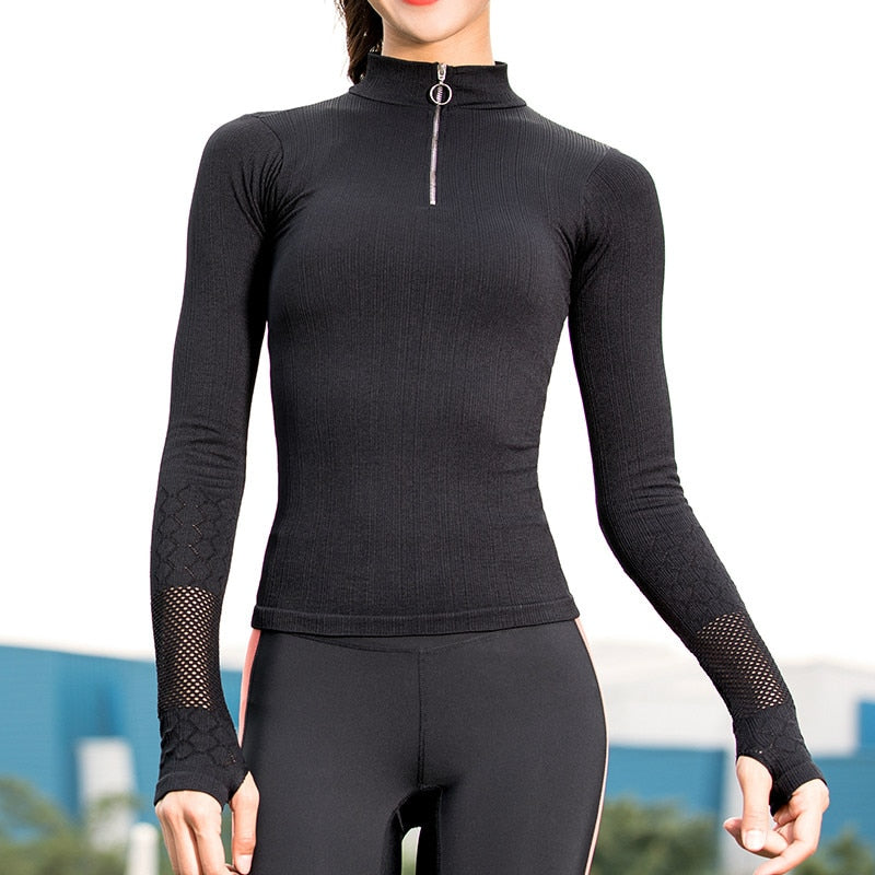Astoria Seamless Quarter Zip Pullover