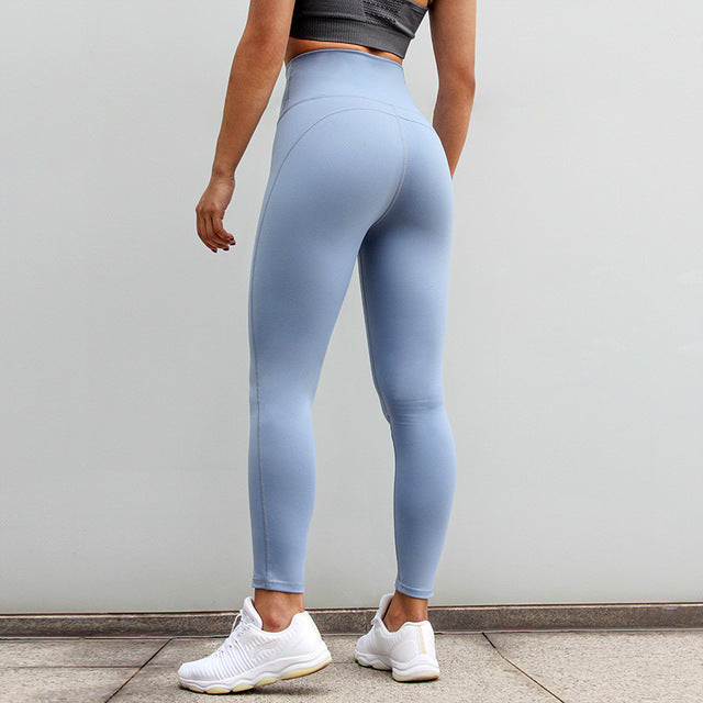 Astoria LUXE High Waist Legging - Baby blue