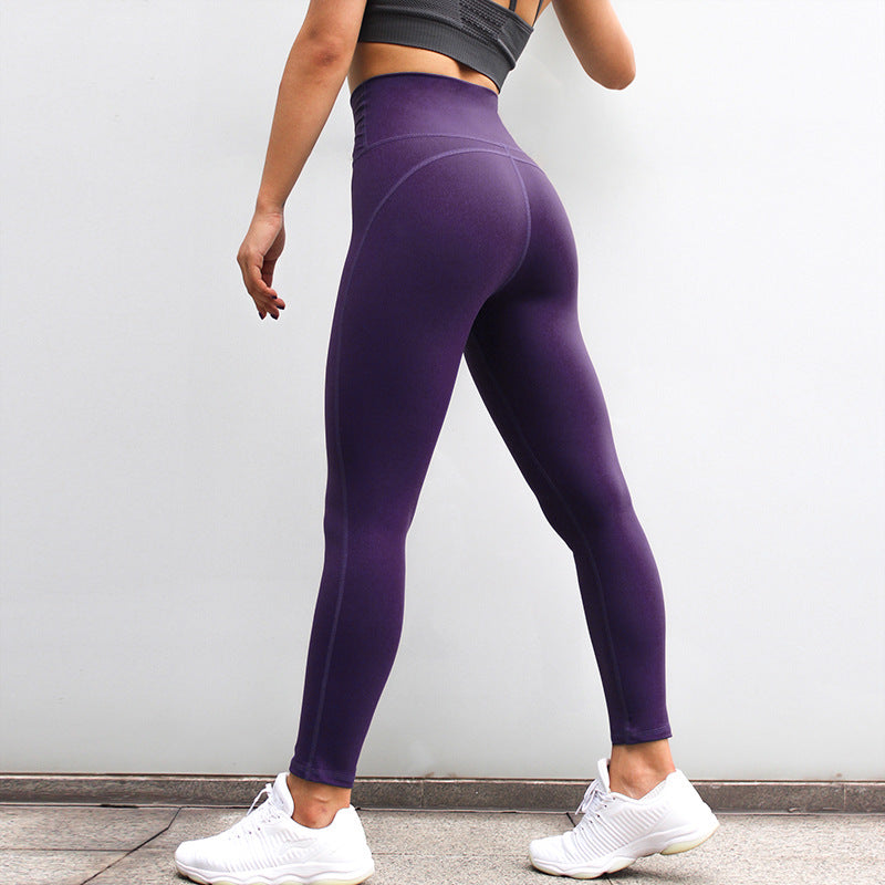 Astoria LUXE High Waist Legging - Purple