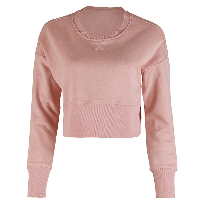 Astoria Super Soft Cropped Sweatshirt