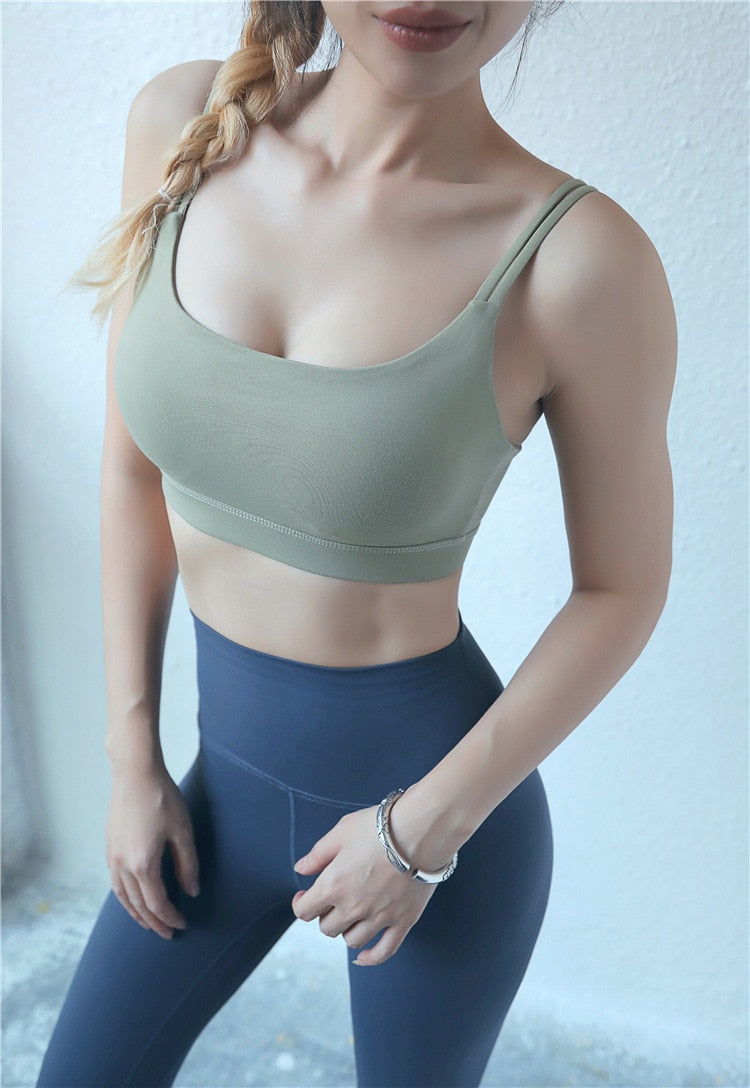 Astoria LUXE Max Support Sports Bra - Taupe Green