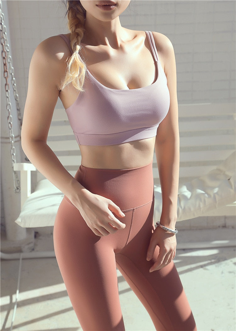 Astoria LUXE Max Support Sports Bra - Lilac