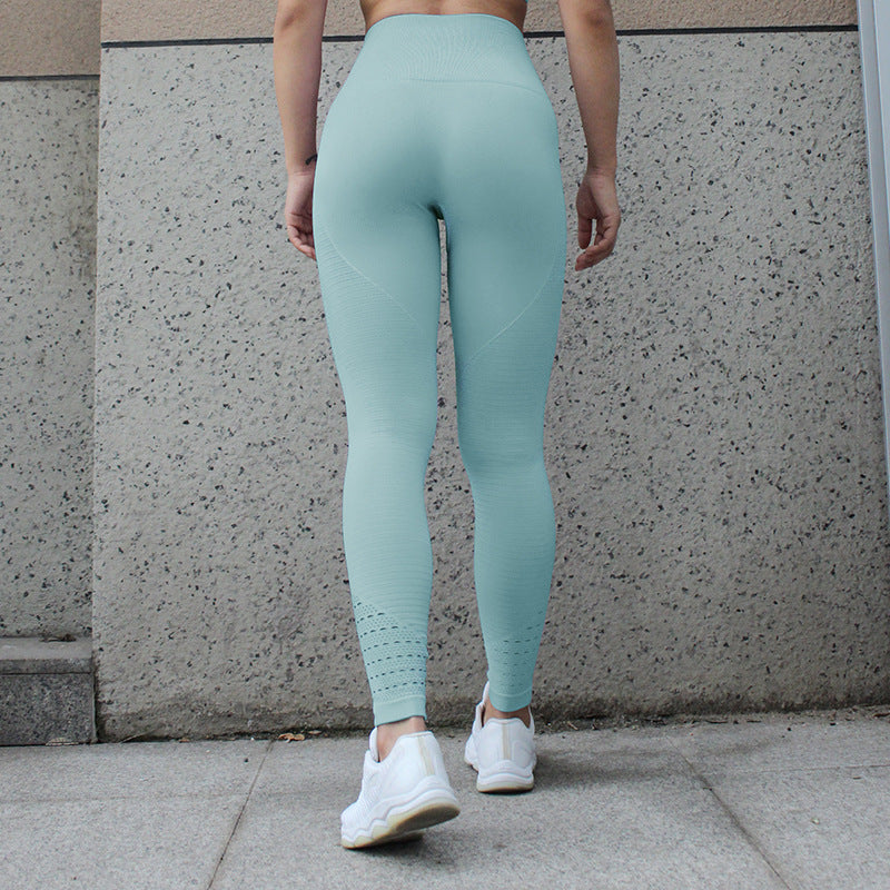 Astoria Seamless Full Length Pastel Legging - Aqua