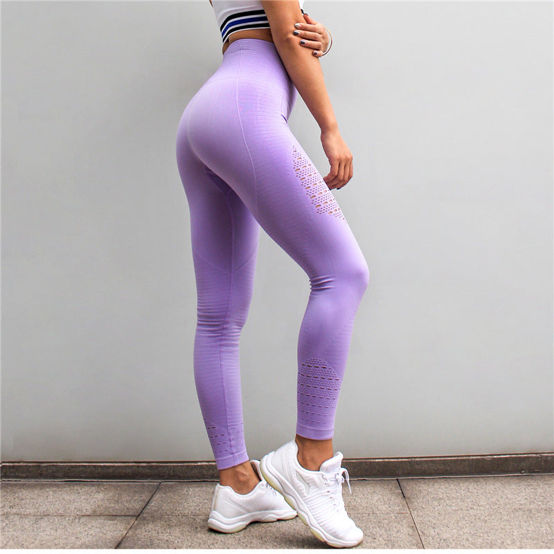Astoria Seamless Full Length Pastel Legging - Lavender