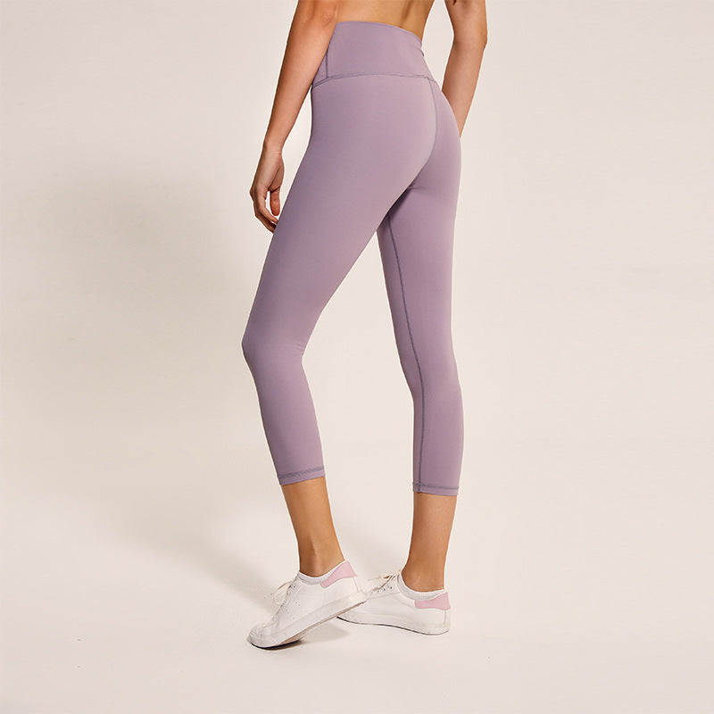 Astoria LUXE Max Support 3/4 Legging - Plum