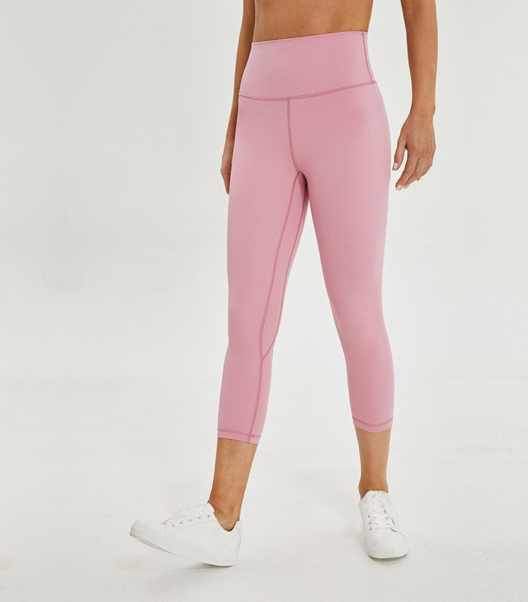 Astoria LUXE Max Support 3/4 Legging - Soft Pink