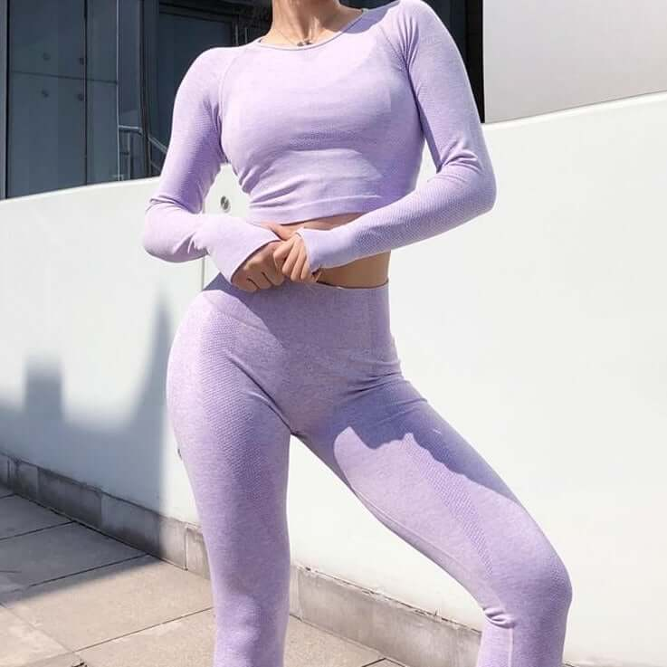 Astoria CORE Full Length Legging - Lavender