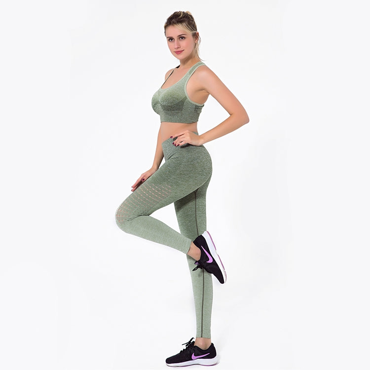 Astoria Seamless Ombre Legging - Army Green