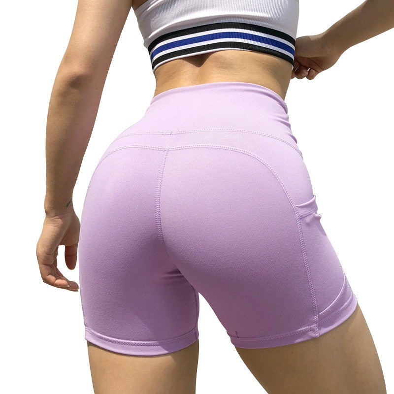 Astoria LIVE LUXE Mid-Length Short - Lavender