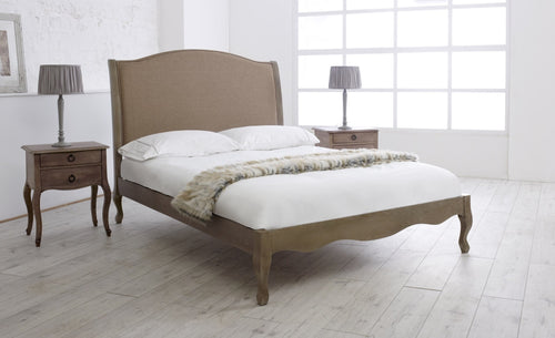 Limelight Genevieve Antique Oak Bed