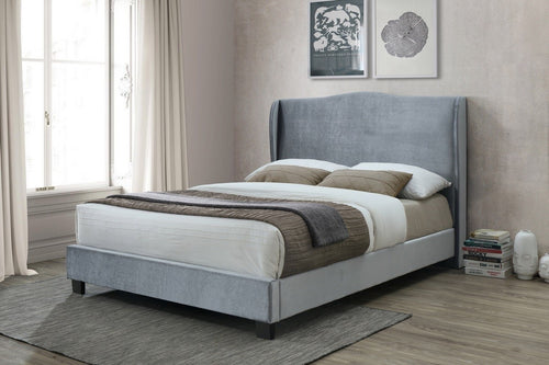 Birlea Dover Silver Fabric Bed