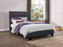 Load image into Gallery viewer, Birlea Hamilton Charcoal Double Bed Frame