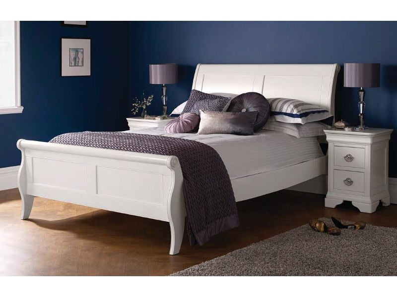 Bentley Chantilly White Bedstead
