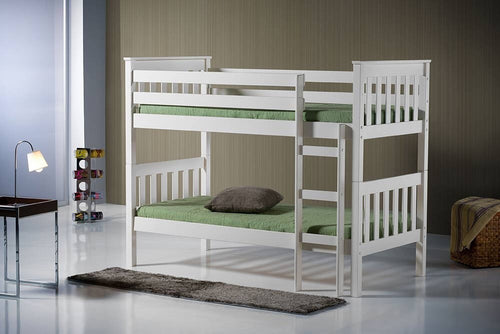 Seattle Bunk Bed - Ivory