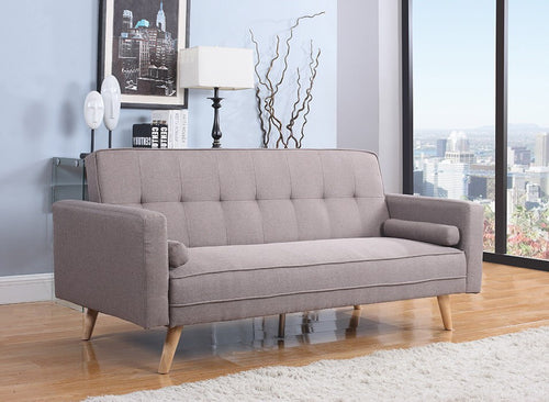 Birlea Ethan Grey Sofa Bed