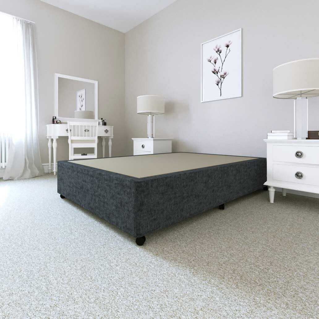 Chenille Divan Bed Base
