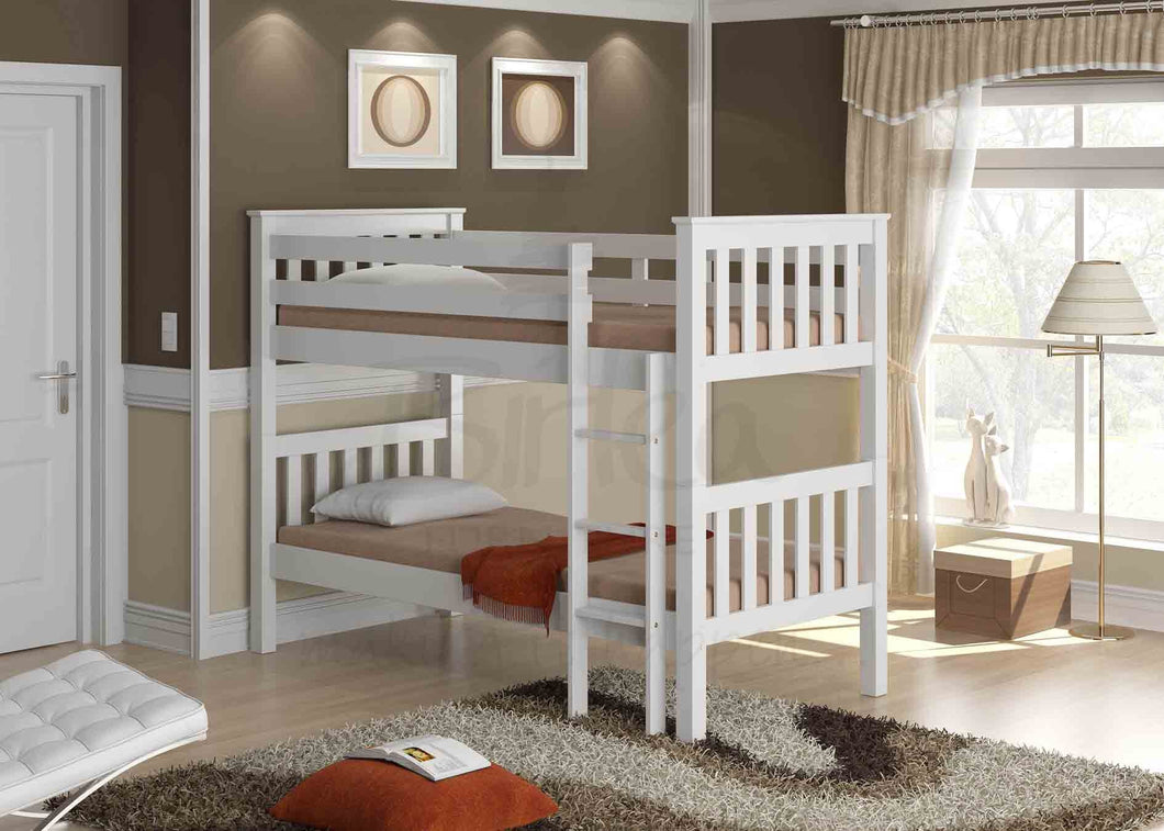 Birlea Seattle Bunk Bed - Ivory